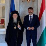 Τον Πρόεδρο της Ουγγαρίας επισκέφθηκε ο Οικ. Πατριάρχης