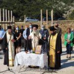Θεμελίωση Κοιμητηριακού Ναού Αναλήψεως του Κυρίου στην Ι. Μ. Άρτης