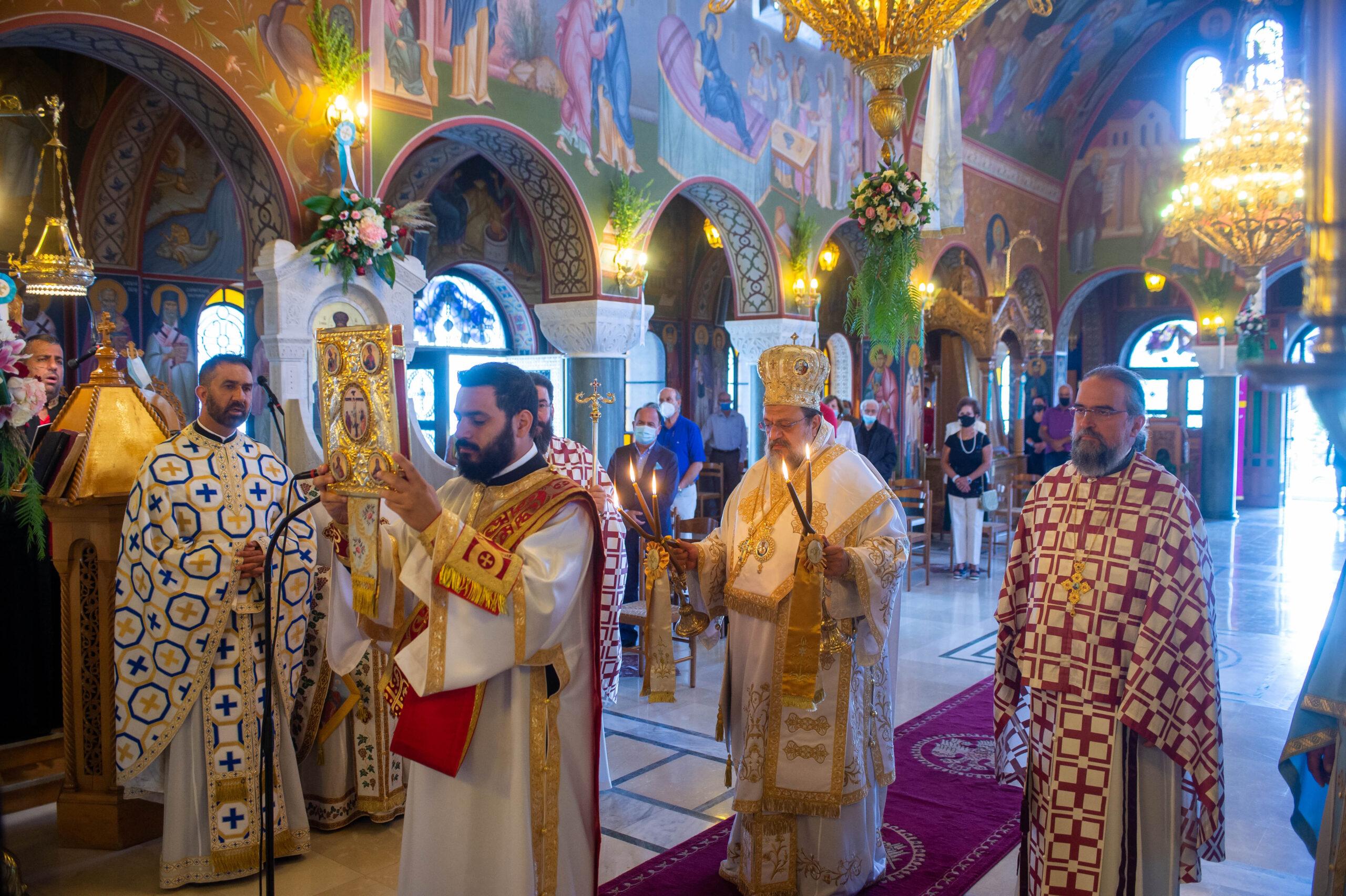 Την Πολιούχο της Παναγία Μυρτιδιώτισσα εόρτασε η Πύλος