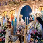 Μνημόσυνο του Αρχιεπισκόπου Χριστοδούλου στην Ι. Μ. Πατρών