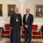 Ο πρόεδρος της C.E.C. στον Μητροπολίτη Βελγίου