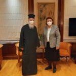 Την Υπουργό Πολιτισμού επισκέφθηκε ο Μητροπολίτης Κορίνθου
