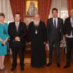 Συνάντηση Αρχιεπισκόπου με τον Πρόεδρο της Σερβικής Εθνοσυνέλευσης