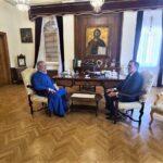 Στον Αρχιεπίσκοπο Χρυσόστομο ο νέος Πρέσβης της Ελλάδος στην Κύπρο