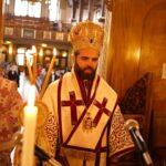 Ο Επίσκοπος Μελιτηνής στην Κοίμηση της Θεοτόκου Wood Green