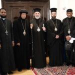 Συνάντηση Αρχιεπισκόπου Θυατείρων με τον Επίσκοπο Μακάριο της Εκκλησίας Ερυθραίας