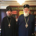 Επίσκεψη του Μητροπολίτη Μινσκ στο Μητροπολίτη Κερκύρας
