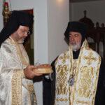 Χοροστασία του Αρχιεπισκόπου Θυατείρων στον Άγιο Αντώνιο Λονδίνου