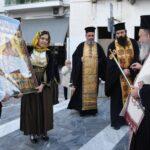 """Η Χαλκίδα υποδέχθηκε την Παναγία των """"Χαιρετισμών"""""""