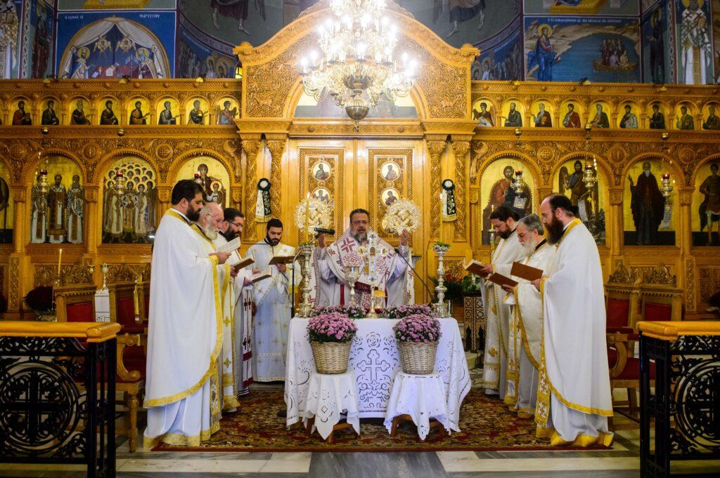 Η Αρχαιοπρεπής Θ. Λειτουργία του Αγίου Ιακώβου στην Καλαμάτα